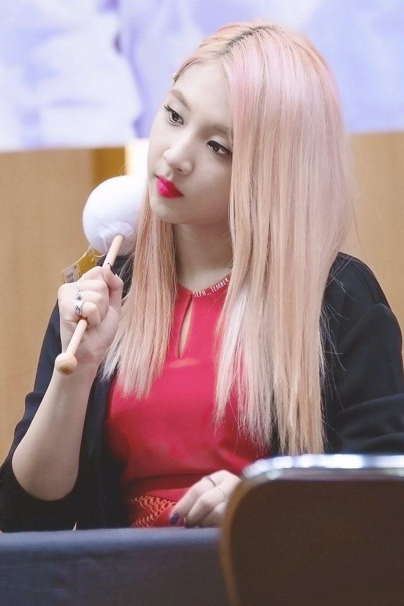 Jiwoo 3 Long Hair Styles Kpop Girls Hair Styles