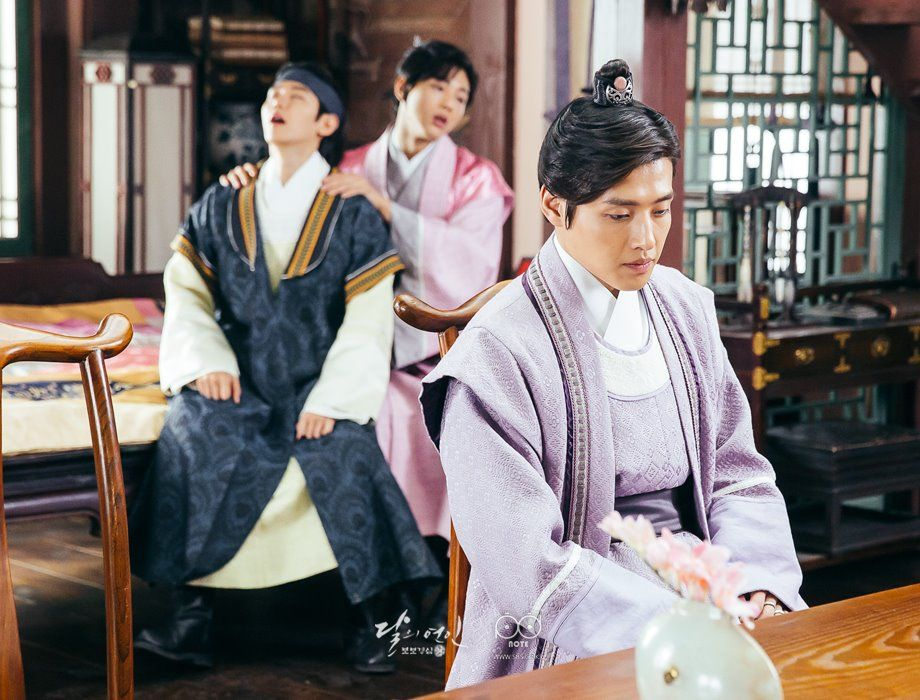 Photo 160902 Baekhyun Moon Lovers Ep1 3 Update Photo Baekhyun