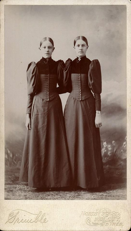 Cabinet card, late nineteenth-century. Nebraska City, Nebraska studio.
