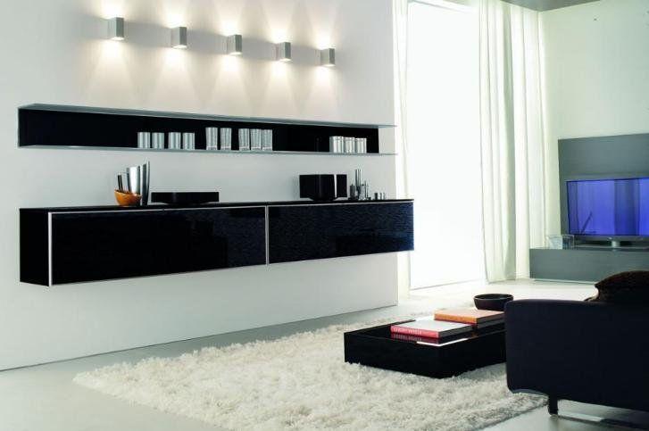 Modern Tv Cabinet Designs For Living Room 40 contemporary living room interior designs 20 Modern Cool Lcd Tv Unit Designs Furniture Homerevocom Room Interior Designliving