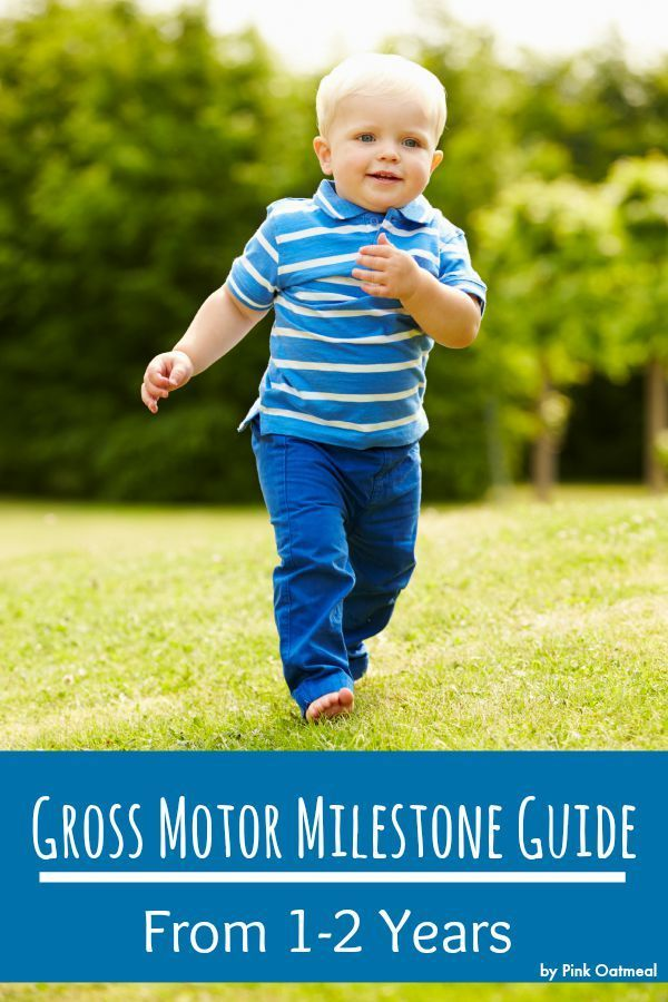 Gross Motor Milestone Guide From 1-2 Years - Pink Oatmeal