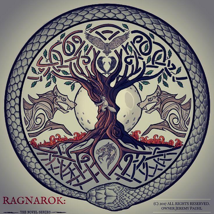 Official Logo for RAGNAROK The Novel Series Look