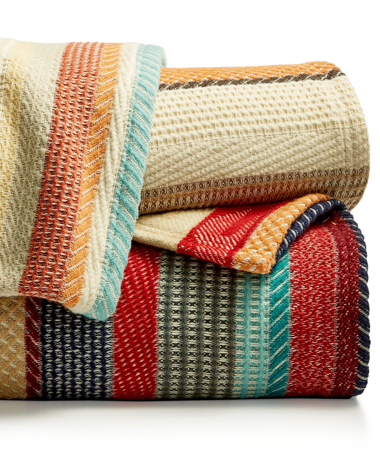 Pendleton Cotton Jacquard Chimayo Blankets Blankets Amp Throws Bed Amp Bath Macy 39 S Twin Blanket Bed Throws Blankets Throws