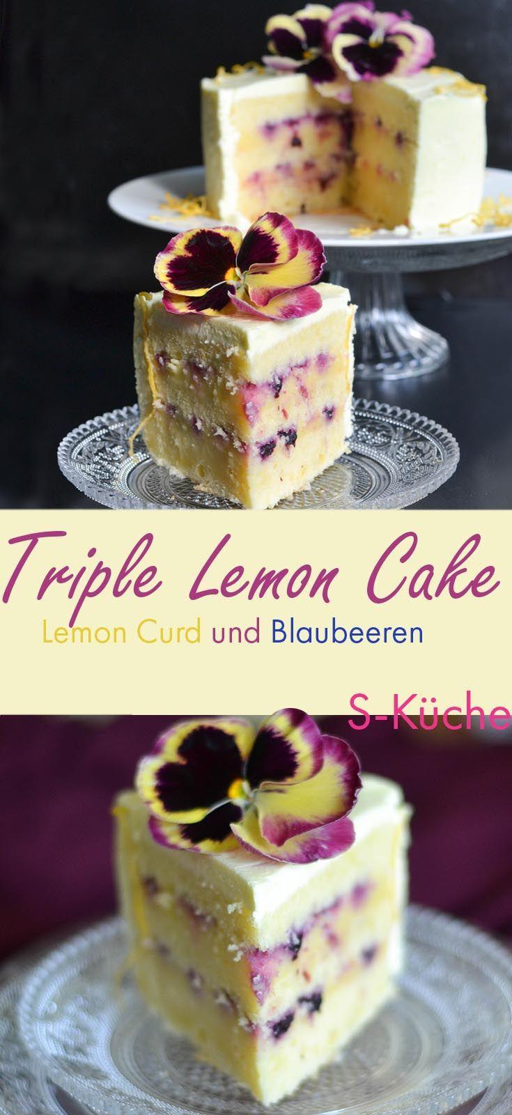 Photo of Triple Lemon Cake oder einfach: Zitronencremetorte