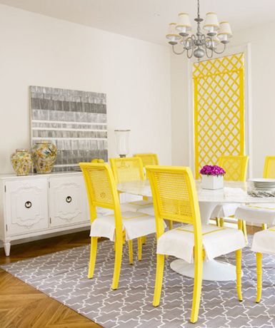Styling 101 The Dining Room Buffet Beautiful Dining Rooms Yellow Dining Room Dining Room Design