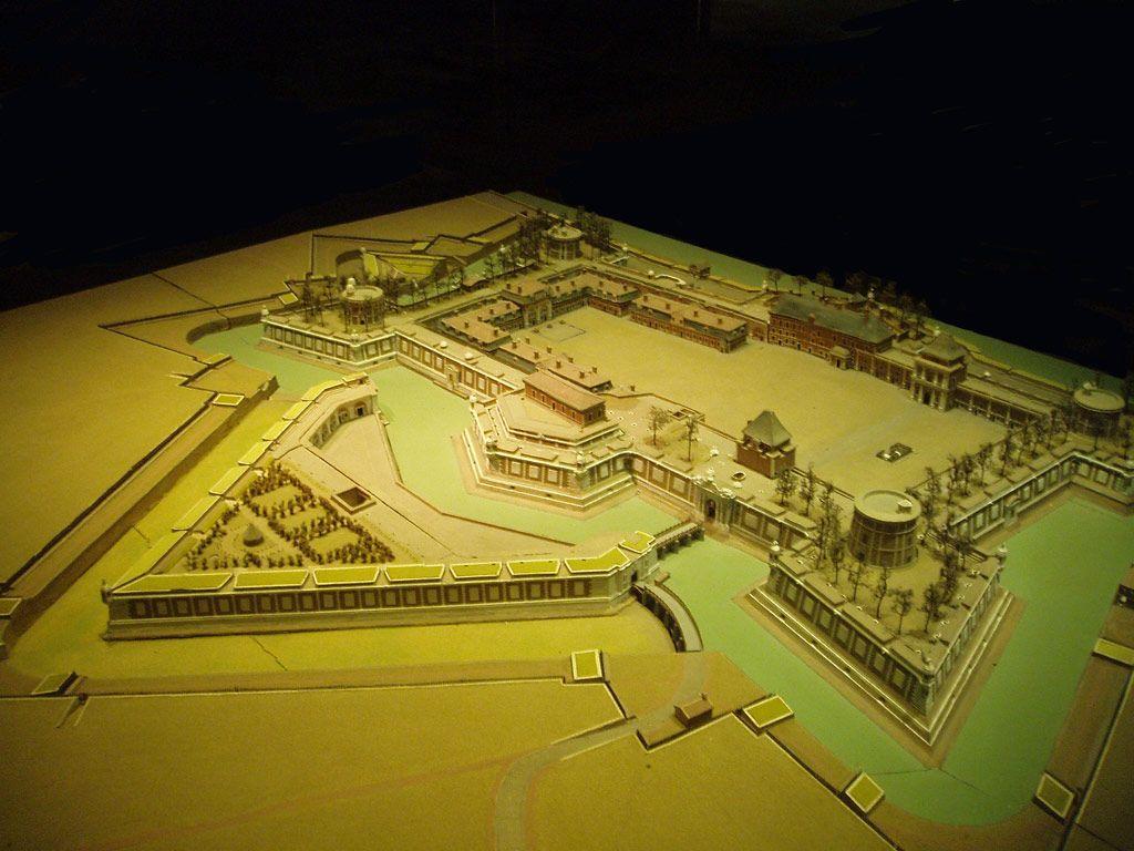 Maquette Chateau Trompette