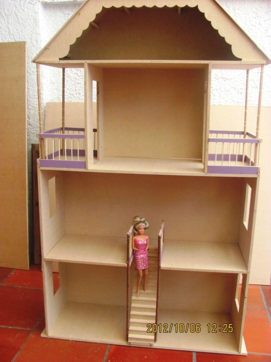 Casa de mu ecas barbie buscar con google casita barbie pinterest barbie - Casa de munecas teatro ...
