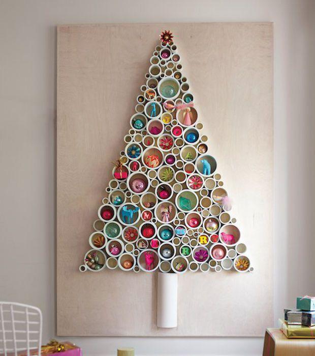 foto entnommen aus aus alltagsgegenst nden einen weihnachtsbaum basteln so geht 39 s 20 fotos. Black Bedroom Furniture Sets. Home Design Ideas