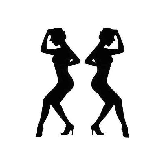 Dancer Die Cuts set of 6 Modern Dance Jazz by PiecesOfMePaperCraft ...