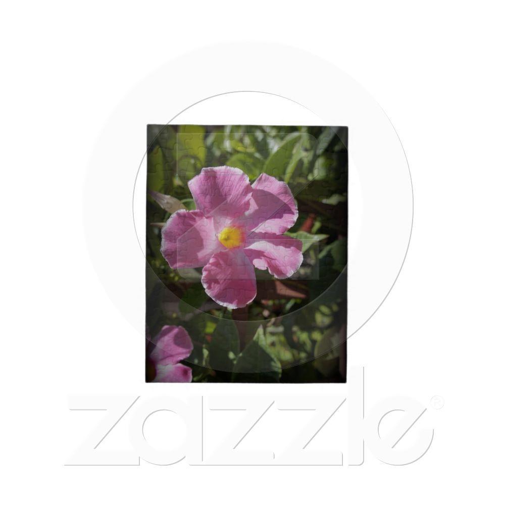 Pink Petals Puzzles from Zazzle.com