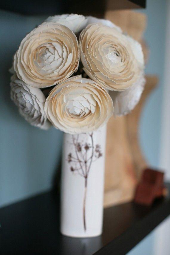 Paper Ranunculus Flower Kit ~ Sunny & Stumpy