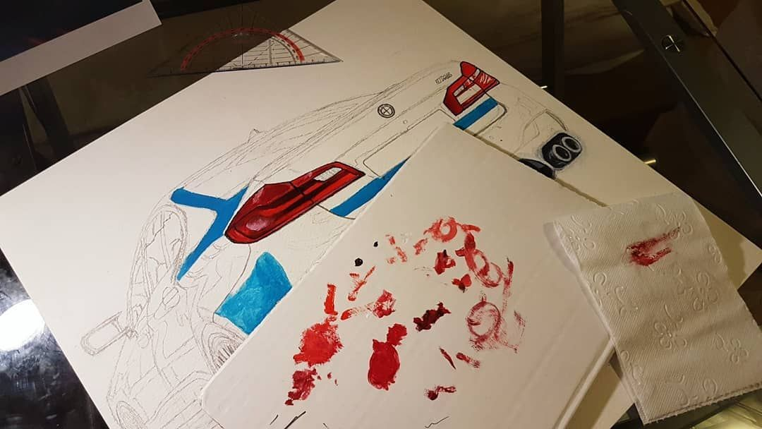 In the process 🖌 can you guess which one it is? 😁 . . . #carart #cardrawing #artwork #bmw #bmw... - #artwork #carart #cardrawing #guess #process #which - #AutosZeichnungen