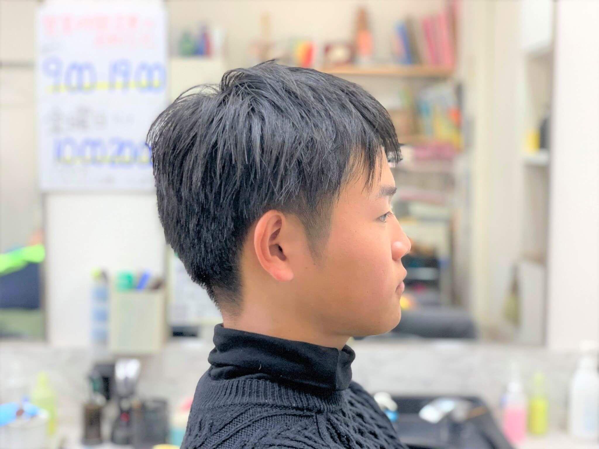 10 代 男子 ヘア スタイル
