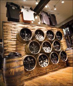 Jack Daniel S Barrels As Decor Bathtub Row Beer Store
