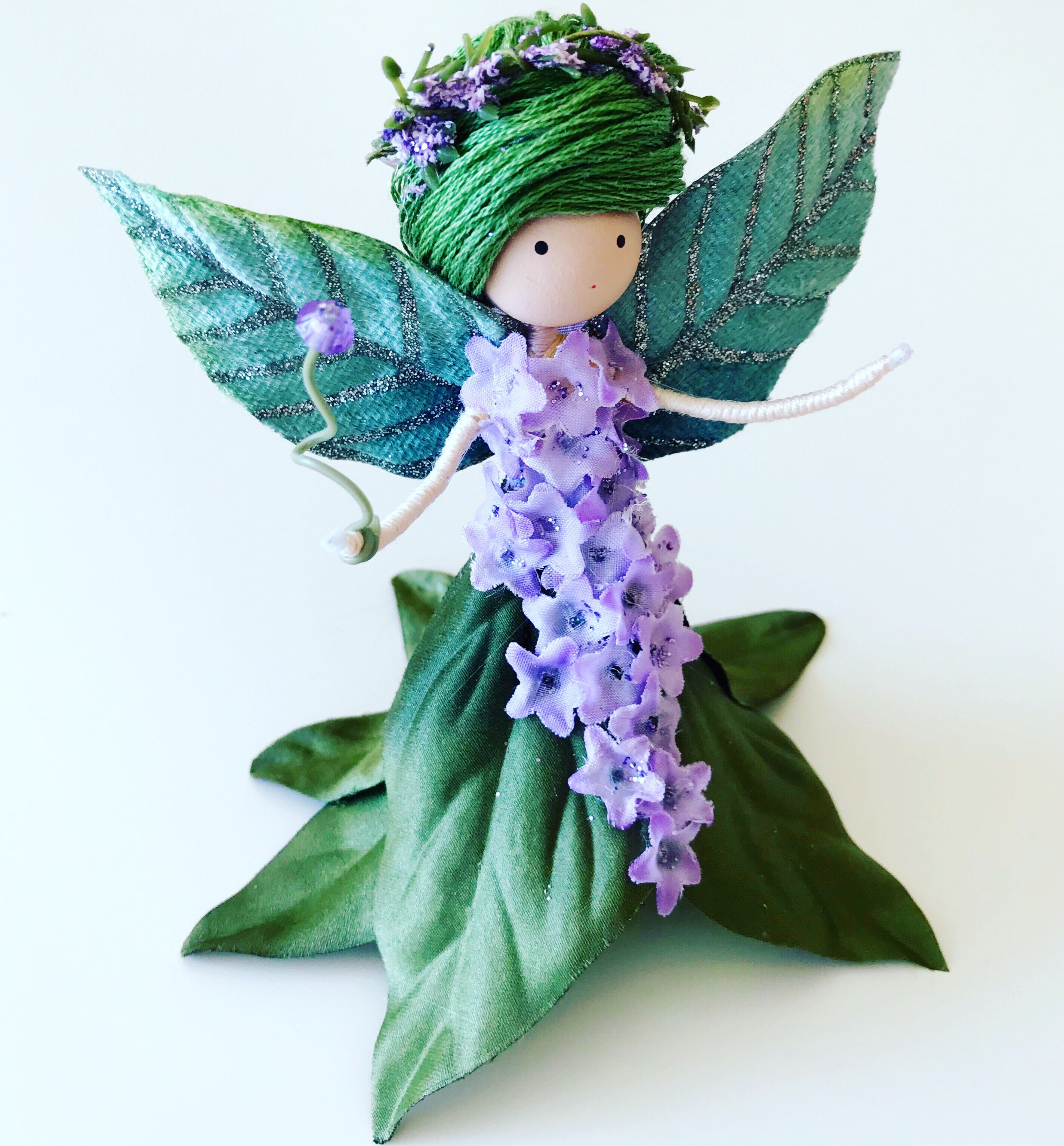 Excited to share the latest addition to my #etsy shop: Green Purple ...