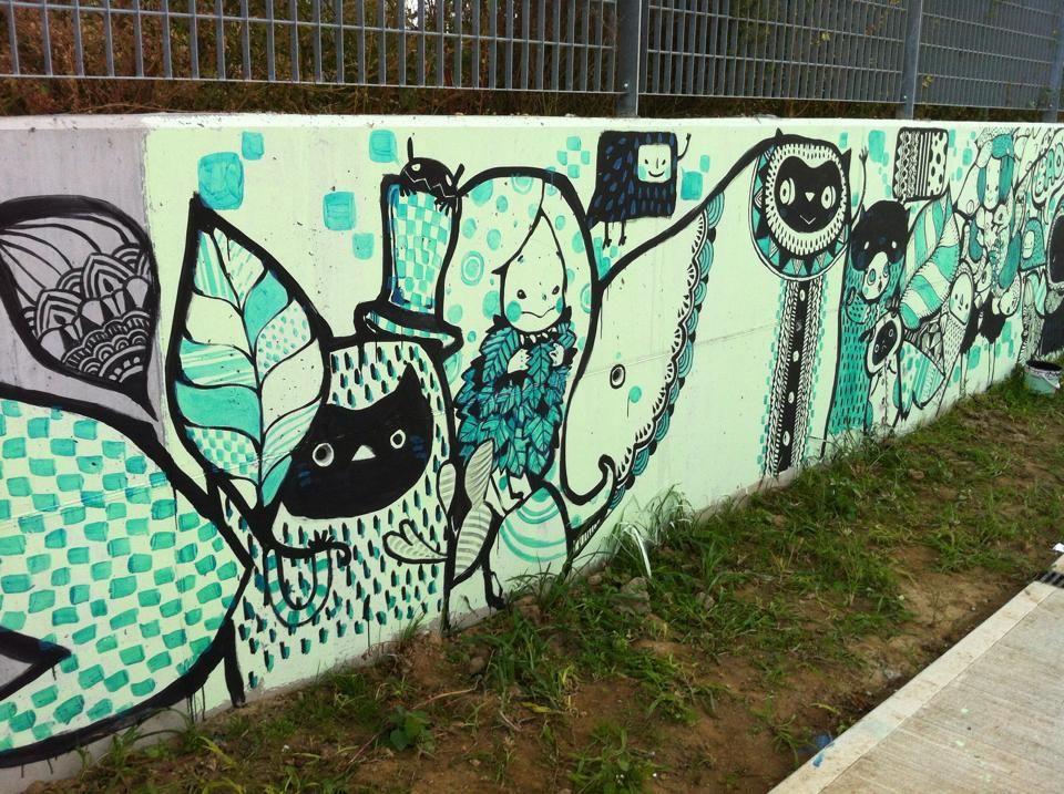 Concrete Jungle Fest In Melzo Jungle Fest Street Art Art