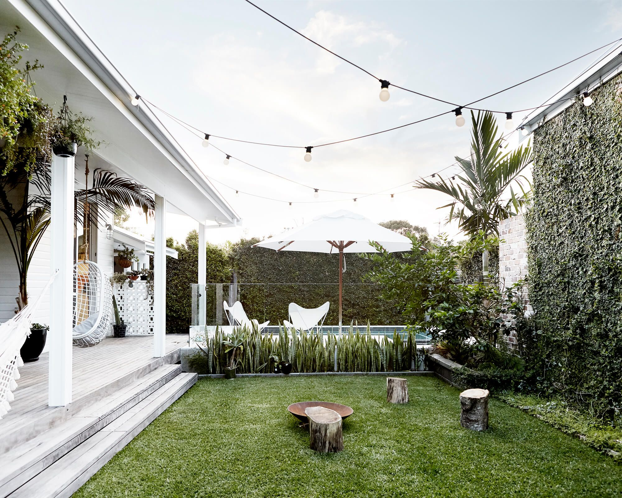 Stunning outdoor area perfect for entertaining backyards