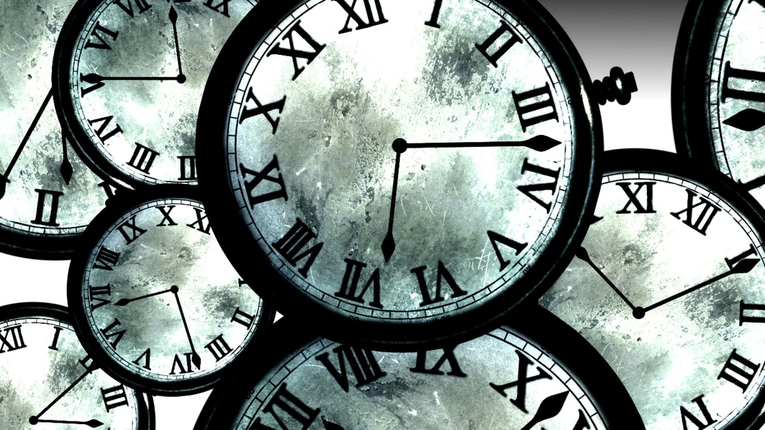 Running Outta Time Clock Wallpaper Steins Clock Art