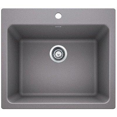 Blanco Liven 25 L X 22 W Dual Mount Laundry Sink Sink Finish