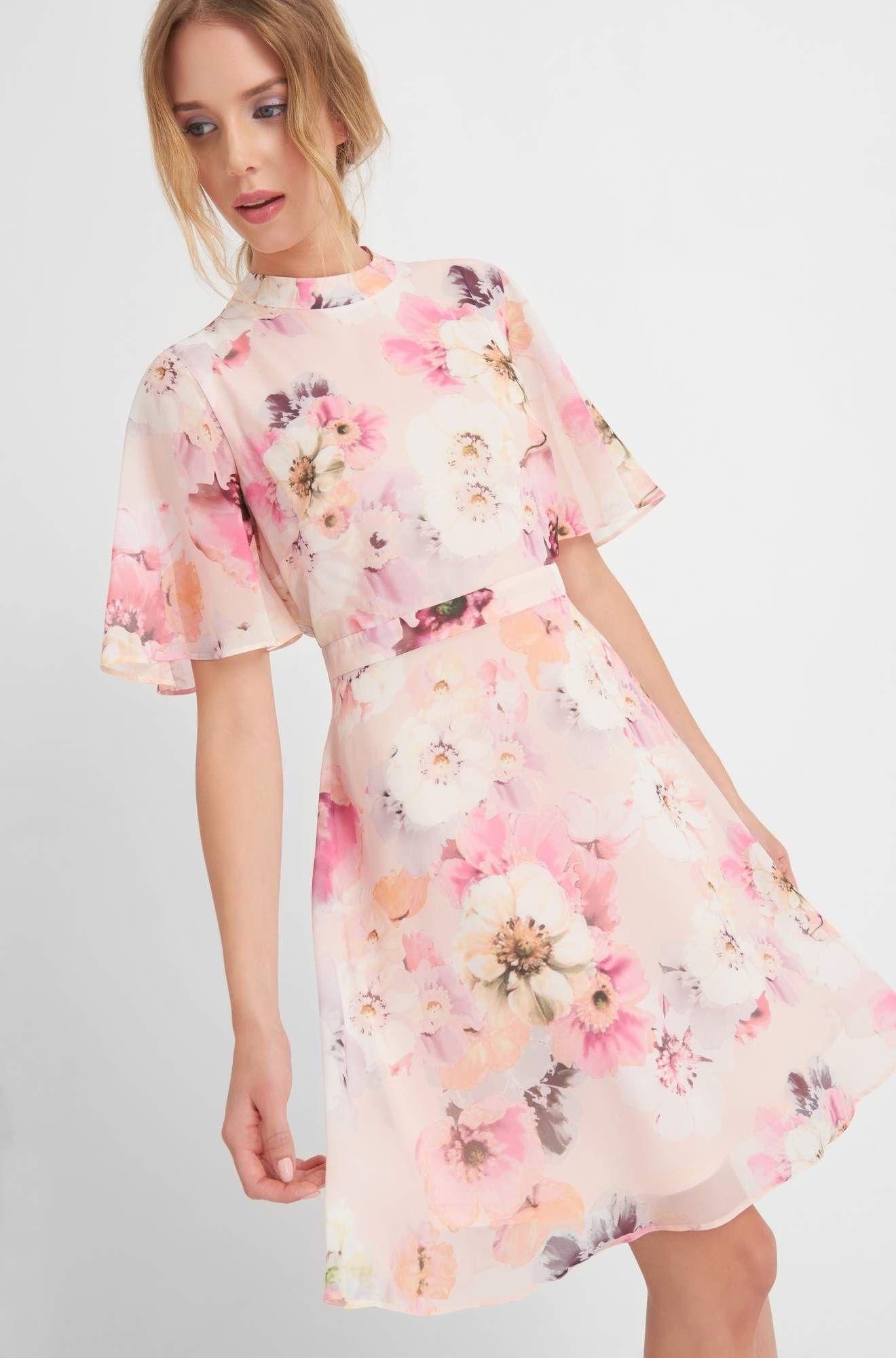 Luftiges Blumenkleid  ORSAY  Kleider, Blumenkleid, Abendkleid
