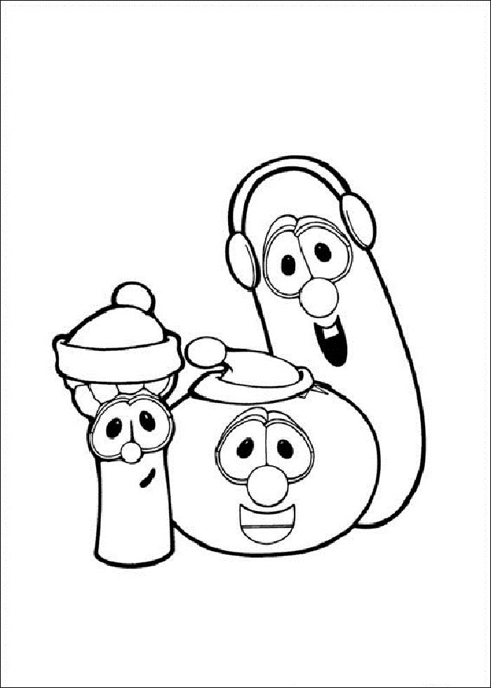 Veggie-Tales-Coloring-Pages.jpg (700×980) | embroidery ideas ...
