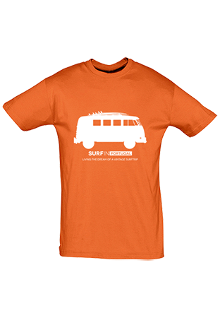 Surf in Portugal   Surf Guide app   SurfinPortugal wear I Hire a vintage VW Campervan for surf trip in Portugal, download the free surf guide app or buy an unique t-shirt or hoodie