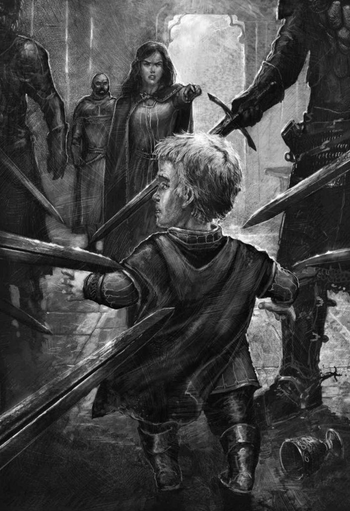 Tyrion Catelyn At The Crossroads Inn The Illustrated Edition