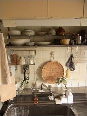 狭 い 古くさ い キッチンが好きな場所になれる魔法の収納術 2 2
