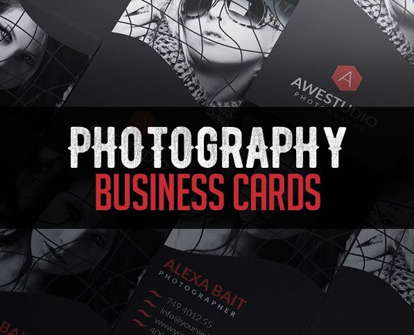 Modern Photography Business Card PSD Templates #photography ...