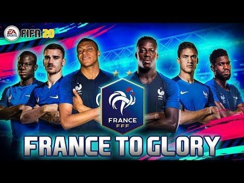 FIFA 20 ULTIMATE TEAM FRANCE TO GLORY PART 1! Obtenez