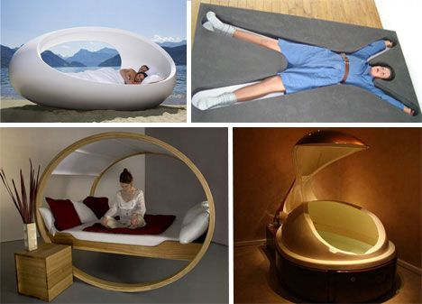 Sleeping In An Egg. Hm. Thatu0027s Different. | The Architect Of Visual  Stimulation | Pinterest | Futuristic, Bed Design And Foam Mattress