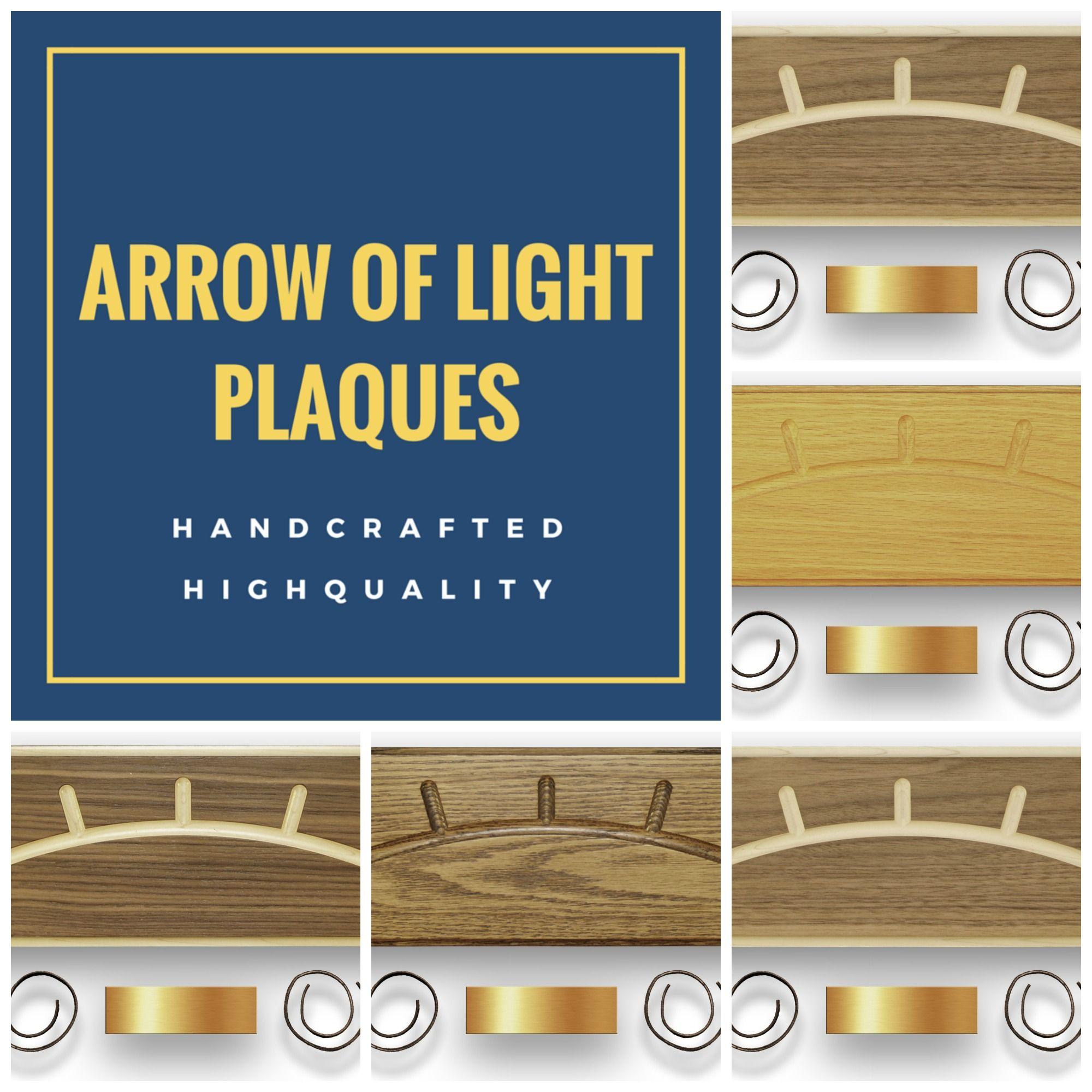 Pin On Diy Family Crafts Arrow of light award plaque kit