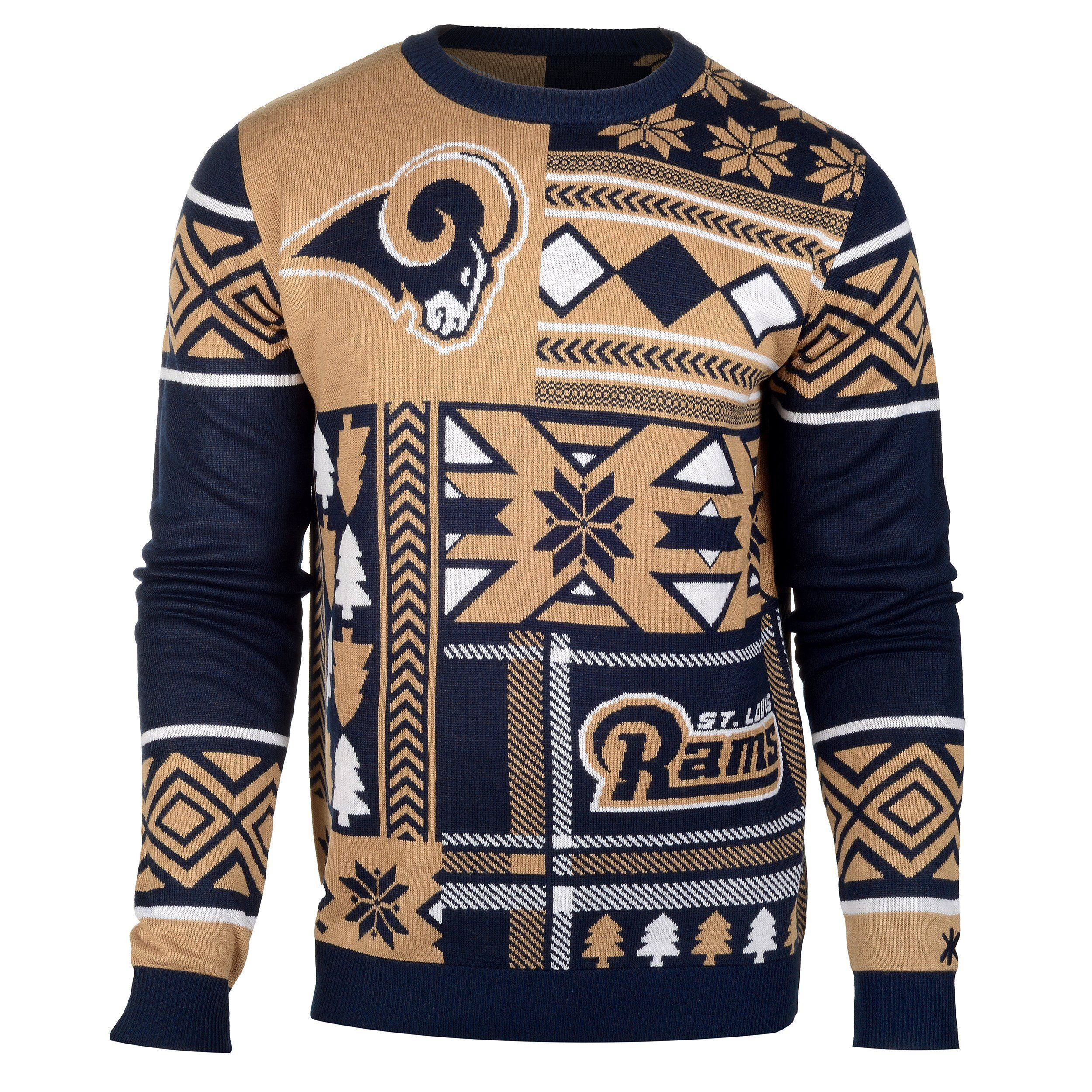 official photos ab22d e4ba8 St Louis Rams Ugly Christmas Sweaters | NFL Teams Ugly ...