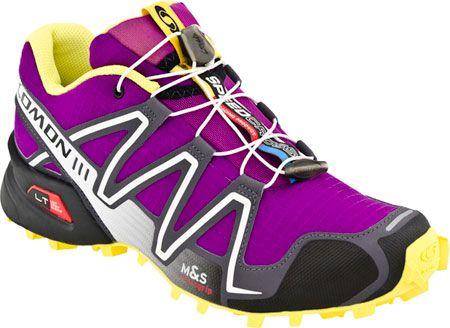Salomon Speedcross 3 Shoes Very Purple Dark Cloud Bright