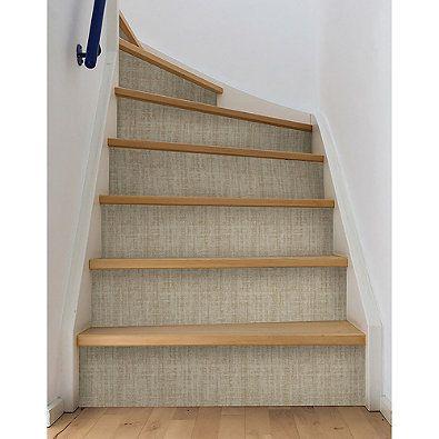 Ramie Linen Peel Stick Wallpaper Peel And Stick Wallpaper Powder Room Redo Brewster Home Fashions