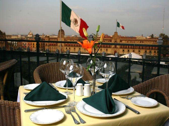 Terraza Gran Hotel Ciudad De México Best Hotels Mexico