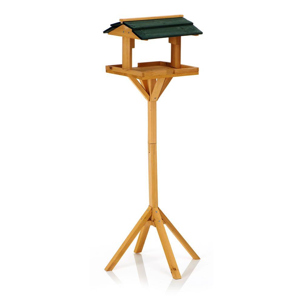 Wilko Wild Bird Wooden Bird Table at wilko.com | Garden Play Ideas ...