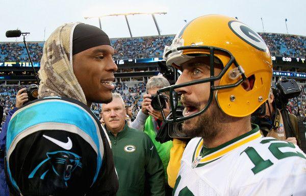 Aaron Rodgers Photos Photos Green Bay Packers V Carolina Panthers Nfc South Nfc North Carolina Panthers Football