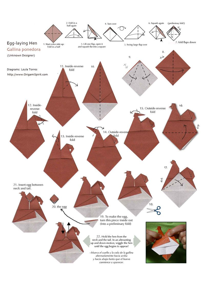 Origami chicken diagram inflatable chick origami pinterest origami chicken diagram inflatable chick jeuxipadfo Choice Image