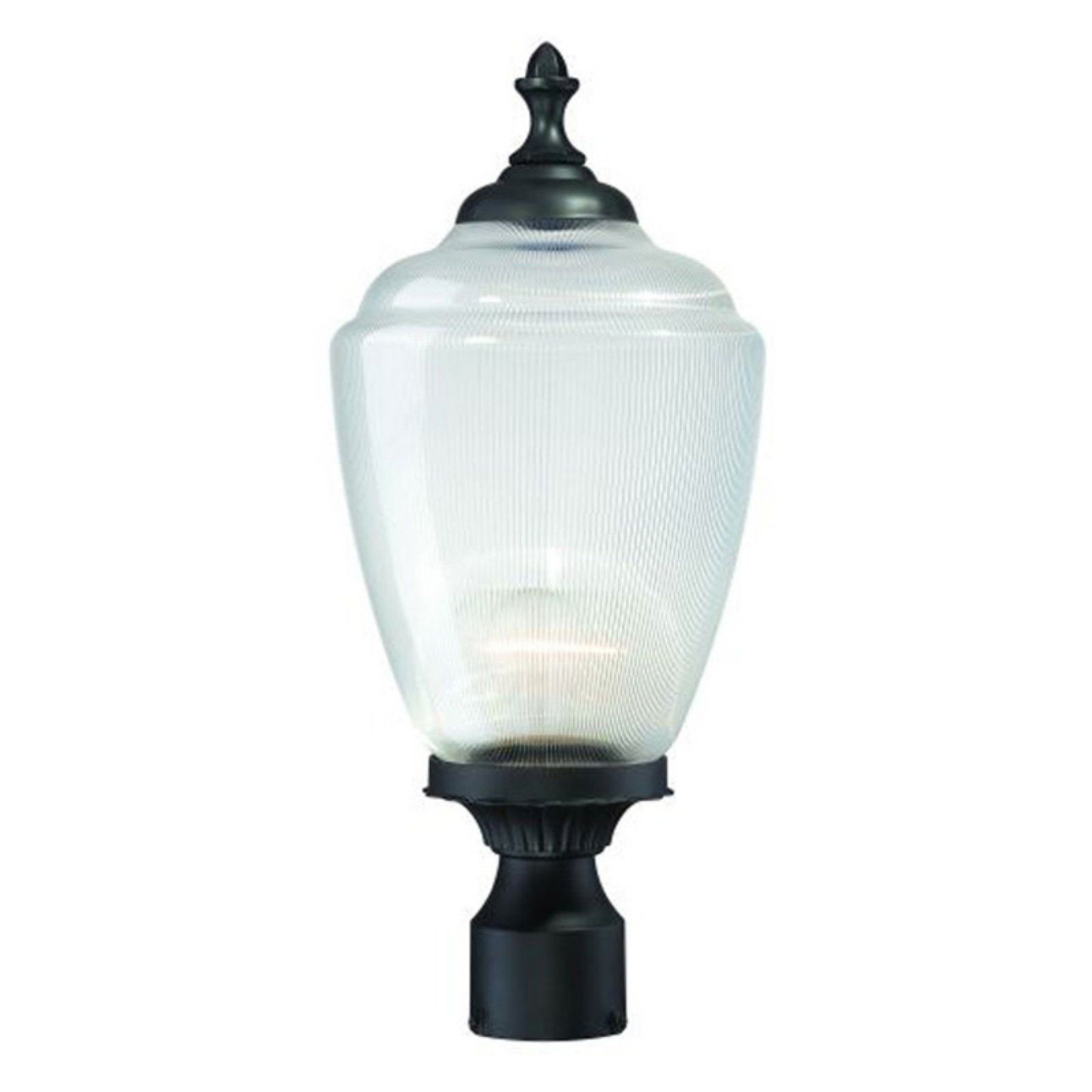 Acclaim Lighting Acorn Outdoor Post Mount Light Fixture 5367BK CL