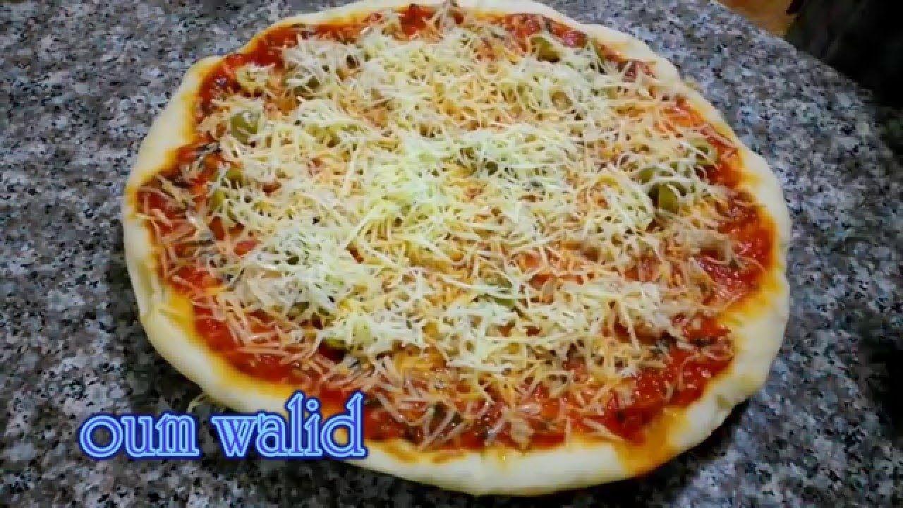 شهيوات ام وليد بيتزا الطاجين ساهلة و ناجحة Youtube Food Cooking Pizza Sauce