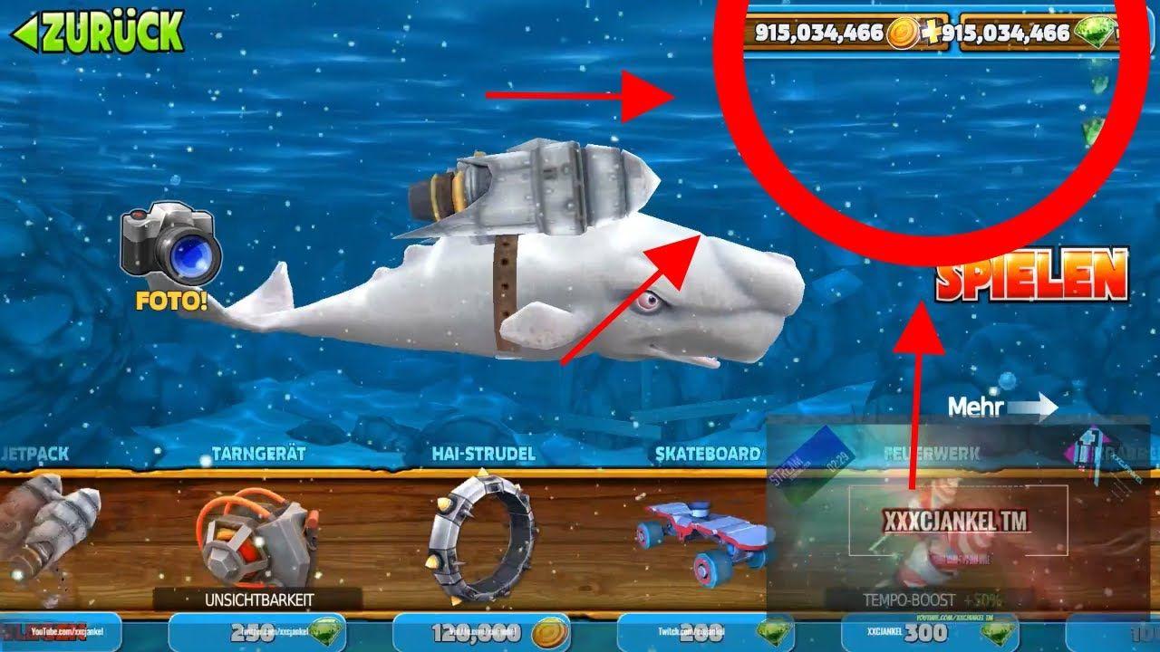 hungry shark evolution apk hack ios