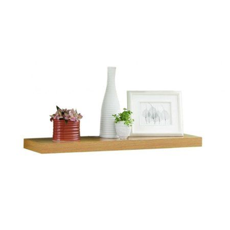 Floating Shelf 36 Inch Oak Shelves Floating Shelves Home Decor