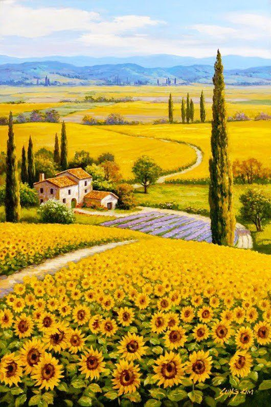 39 idee su Disegni di paesaggi | disegni di paesaggi, paesaggi, arte del  paesaggio