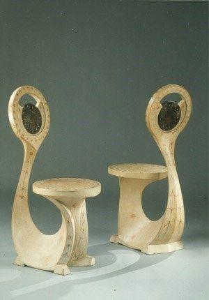 Cobra Chair, c. 1902. Carlo Bugatti
