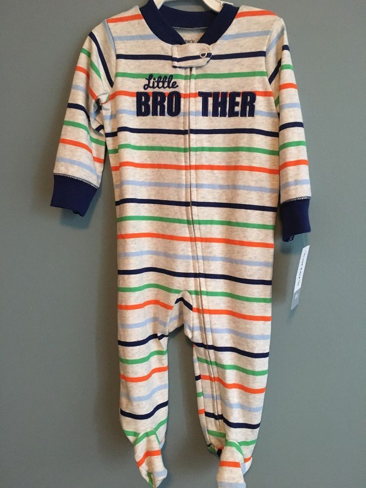 f739f407f Carters little brother footie outfit (6M) #fashion #clothing #shoes  #accessories #babytoddlerclothing #boysclothingnewborn5t (ebay link)