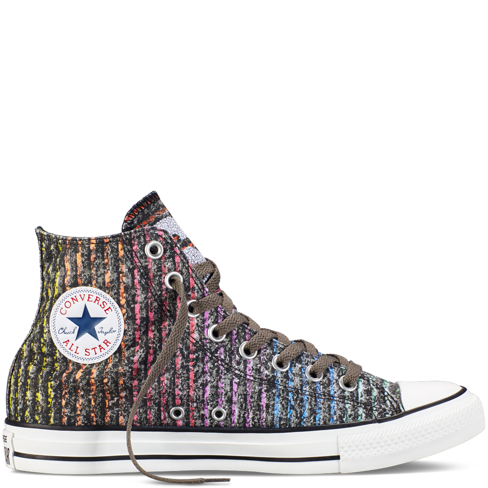 Converse - Chuck Taylor All Star Pride - Charcoal/Multi - Hi Top
