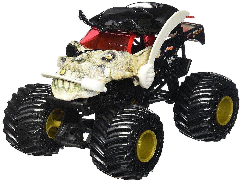 Amazon Com Hot Wheels Monster Jam 1 24 Pirate Truck Toys Games