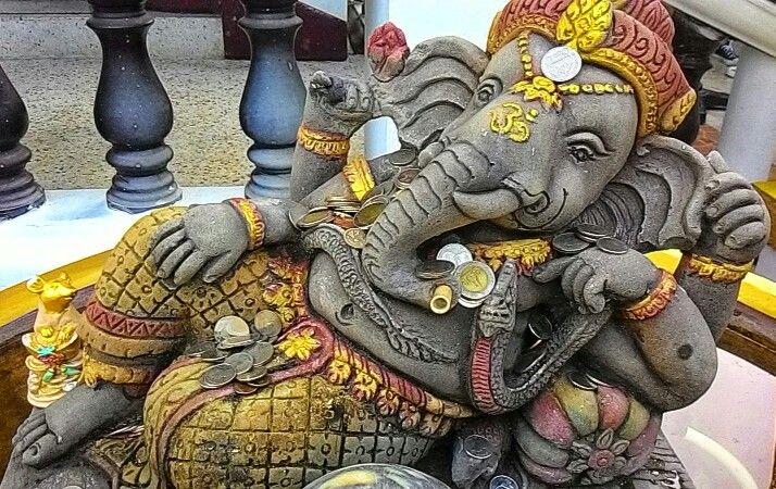 Ganesha What Pra Tat Doi Jam Chiangmai Thailand Chiang Mai Ganesha Thailand