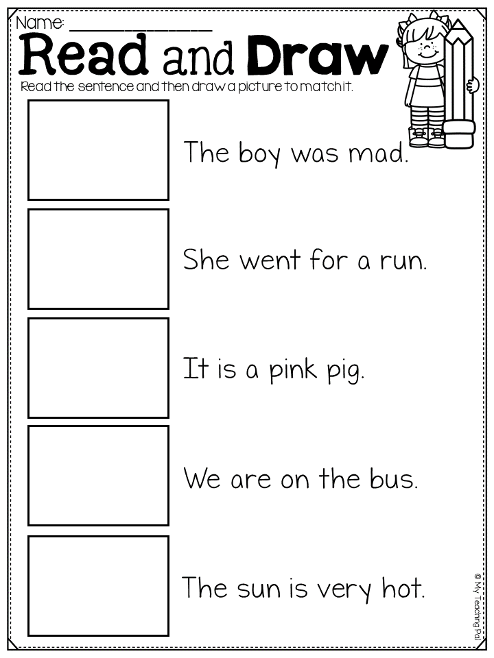 Read And Draw Worksheet Great For Demonstrating Comprehension Skills This Read And Underst Reading Comprehension Skills Reading Writing Reading Comprehension